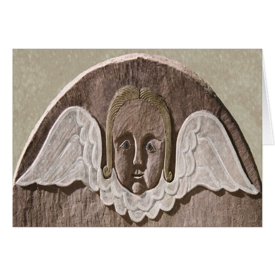 New England Angel Card (Sage)