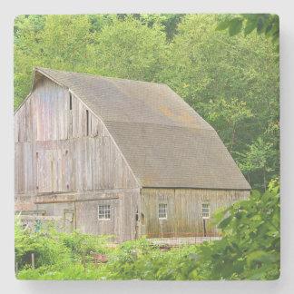 New England Barn Stone Coaster