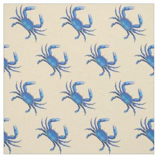 New England Blue Crab Fabric