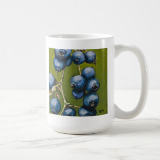 New England Blueberries Basic White Mug