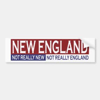 New England Bumper Sticker