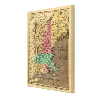 New England Canvas Print