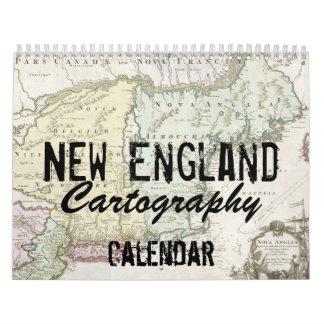 New England Cartography Calendar