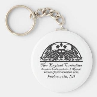 New England Curiosities Logo Keychain