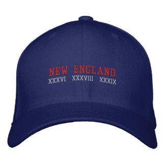 New England Embroidered Baseball Cap