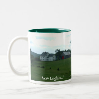 New England Farm Mug - Customized