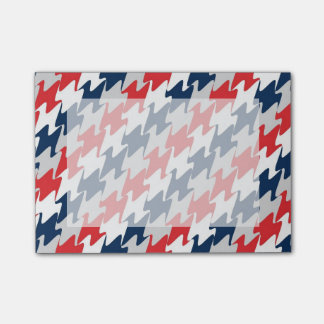 New England Football Team Colors Red White & Blue Post-it® Notes