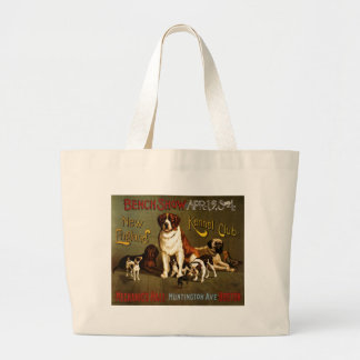New England Kennel Club c.1890 show poster Bags