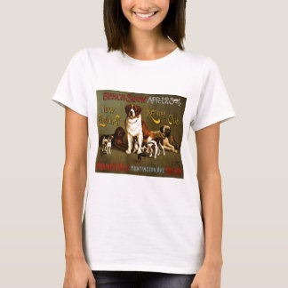 New England Kennel Club c.1890 show poster T-Shirt