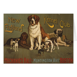 New England Kennel Club Greeting Card