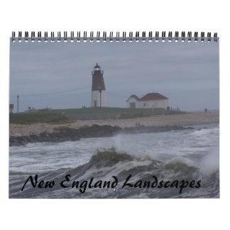 New England Landscapes Calendar