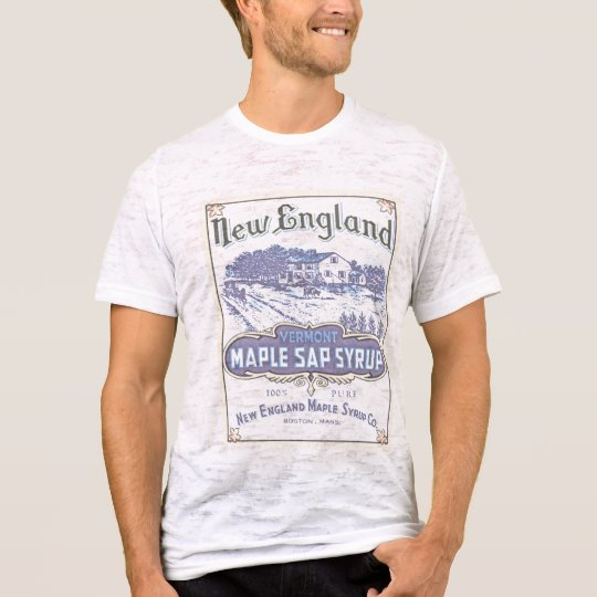 New England Maple burnout T-Shirt
