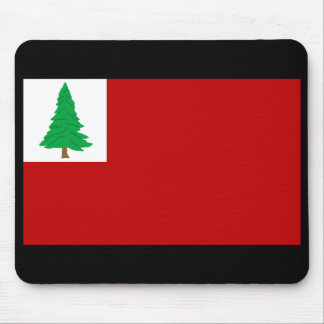 New England Pine Flag Mousepad