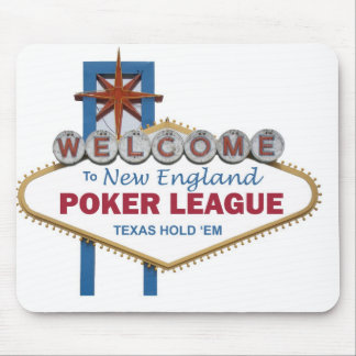 New England Poker League Mousepad