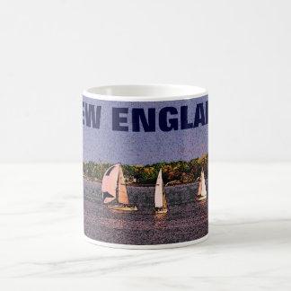 New England Sailboats Mug