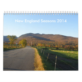 New England Seasons 2014 Calendar