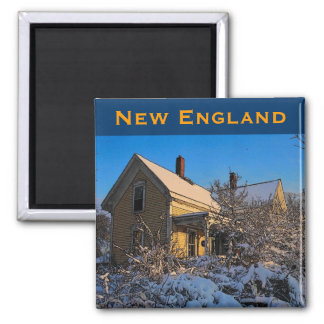New England (Snow) Magnet - Customized