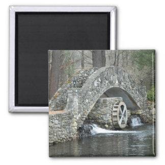 New England Stone Bridge Fridge Magnet