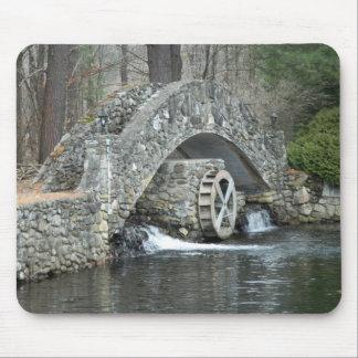 New England Stone Bridge Mouse Pad