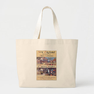 New England Three Centuries of American Atmosphere Canvas Bags