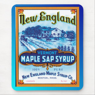 New England Vermont Maple Syrup Mouse Pads