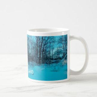 NEW ENGLAND WINTER BASIC WHITE MUG