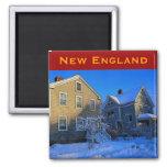New England Winter Magnet
