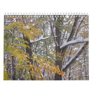 New England's Four Season Calendar