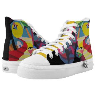 NEW Euphoria Popular Design by Raluca Nedelcu Printed Shoes