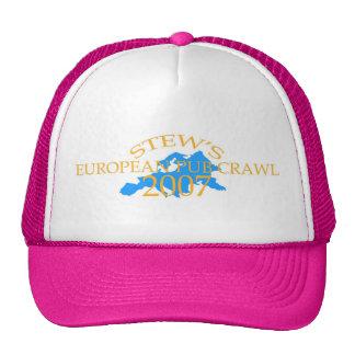 NEW euro pub crawl hat - chicks