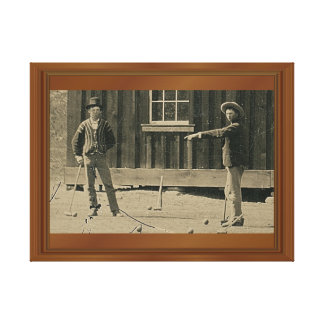 New Evidence Billy The Kid Stretched Canvas Print