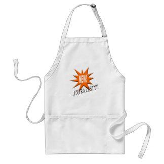 New.... extra zesty! standard apron