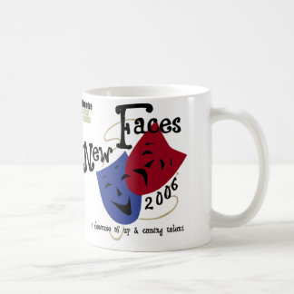 New Faces coffee cup Classic White Coffee Mug