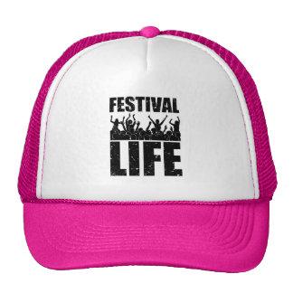 New FESTIVAL LIFE (blk) Cap