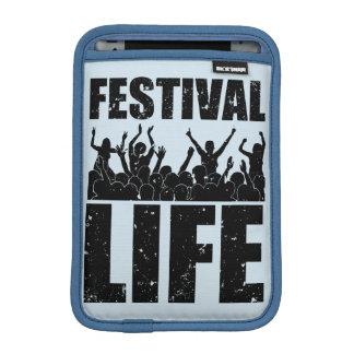 New FESTIVAL LIFE (blk) iPad Mini Sleeve