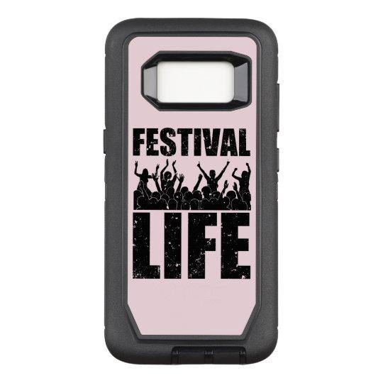 New FESTIVAL LIFE (blk) OtterBox Defender Samsung Galaxy