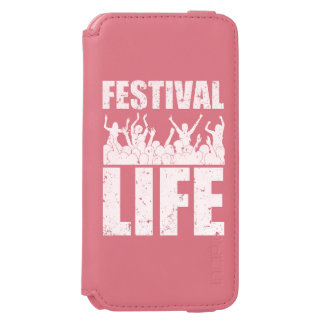 New FESTIVAL LIFE (wht) Incipio Watson™ iPhone 6 Wallet Case