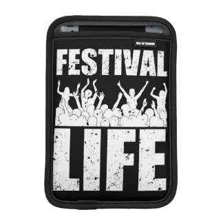 New FESTIVAL LIFE (wht) iPad Mini Sleeve