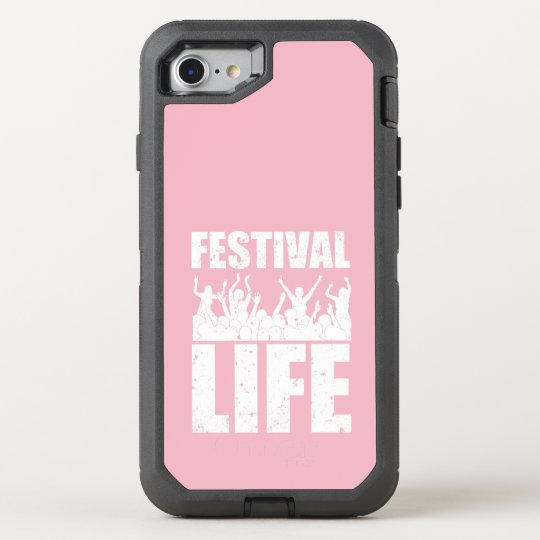 New FESTIVAL LIFE (wht) OtterBox Defender iPhone 8/7
