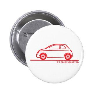 New Fiat 500 Cinquecento Button