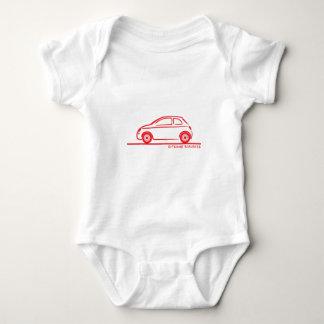 New Fiat 500 Cinquecento Infant Creeper