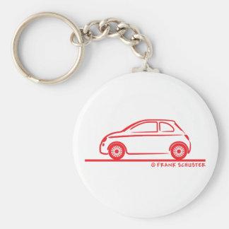New Fiat 500 Cinquecento Keychains
