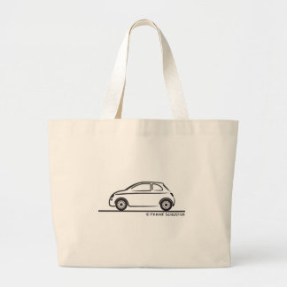 New Fiat 500 Cinquecento Large Tote Bag