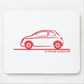 New Fiat 500 Cinquecento Mouse Pad