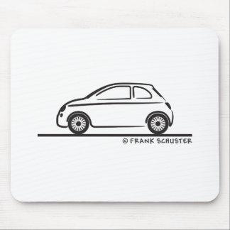 New Fiat 500 Cinquecento Mousepad