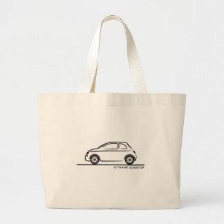 New Fiat 500 Cinquecento Tote Bags