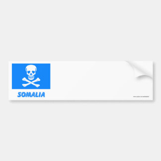 New Flag of Somalia (This is a joke!) Bumper Stickers
