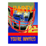 New Football Birthday Party Personalise Invitation 13 Cm X 18 Cm Invitation Card