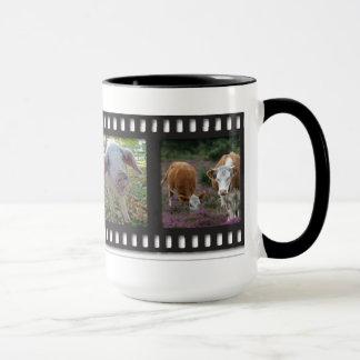 New Forest animals mug