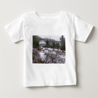 New Forest cottage in snow Baby T-Shirt